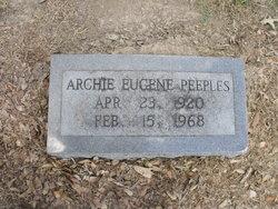 Archie Eugene Peeples