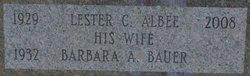 Lester C Albee