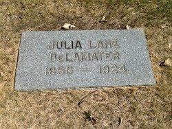Julia <I>Lane</I> DeLamater