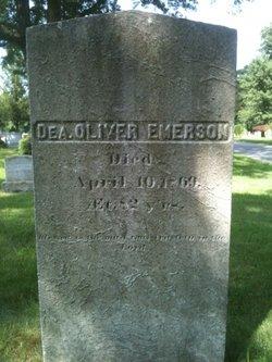 Deacon Oliver Emerson