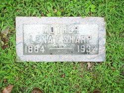 Lena F. <I>Donson</I> Sharp