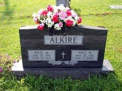Paul M Alkire
