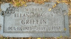 Eleanor <I>Bacon</I> Griffin