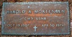 Harold A Mortensen