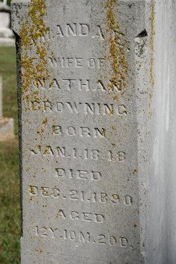 Amanda E. <I>Carothers</I> Browning