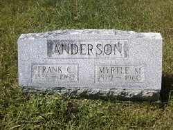 Myrtle Mary <I>McCandless</I> Anderson