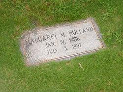 Margaret May <I>McPheron</I> Holland