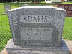 Dorothy Lee <I>Dixon</I> Adams