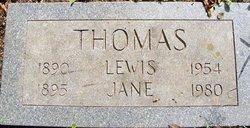 Jane <I>Whinnen</I> Thomas