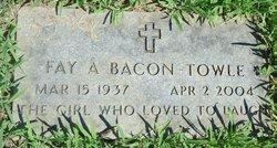 Fay A. <I>Hinman</I> Bacon-Towle
