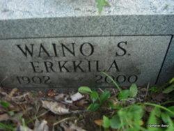 Waino S. Erkkila