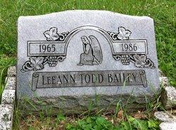 Lee Ann <I>Todd</I> Bailey
