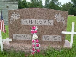 Dorothy A <I>Bayless</I> Foreman