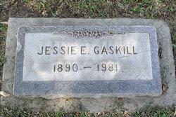 Jessie E Gaskill
