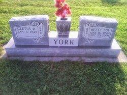 Betty Sue <I>Stockston</I> York