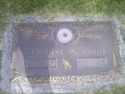 Genevieve M Adams