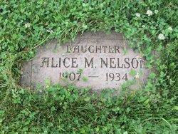 Alice M Nelson
