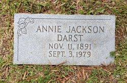 Annie <I>Jackson</I> Darst