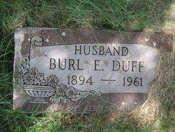 Burl E Duff