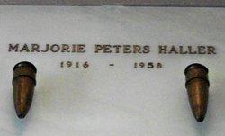 Marjorie Mae <I>Peters</I> Haller