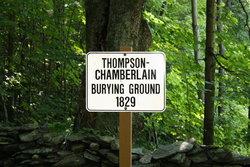 Thompson - Chamberlain Burying Ground