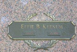 Effie B. <I>Ginn</I> Keenum
