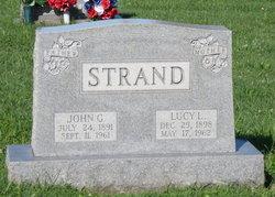 Lucy L. <I>Vorhees</I> Strand