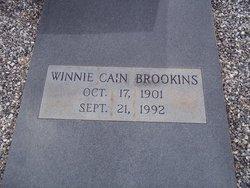 Winnie <I>Cain</I> Brookins
