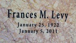 Frances Marie <I>Wilzinski</I> Levy