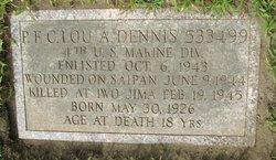PFC Lou Allen Dennis