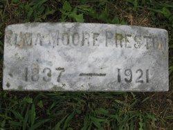 Elma <I>Moore</I> Preston