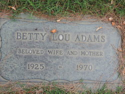Betty Lou Adams