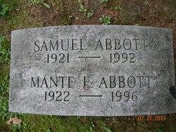 Mante E. Abbott