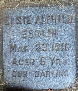 Elsie Alfhild Berlin