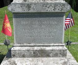 Mary Jane <I>Hopson</I> Spofford