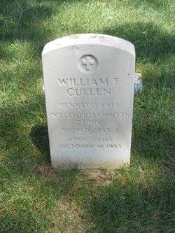 William F Cullen