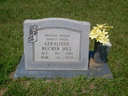 Geraldine <I>Rucker</I> Hill