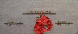 Arthur F Anderson