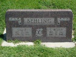 Lile Edith <I>Child</I> Behling