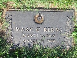 Mary C Kerns