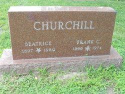 Beatrice <I>Chauncey</I> Churchill