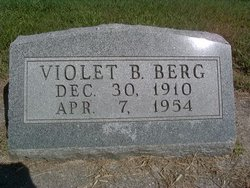 Violet Bernice <I>Bloom</I> Berg