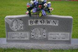 Ernestine <I>Ferrell</I> Brown