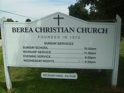 Berea Christian Church Cemetery