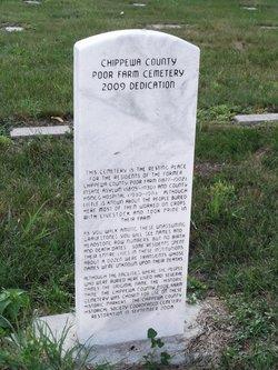 Chippewa County Poor Farm Cemetery