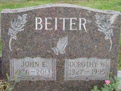 """John E. """"Jack"""" Beiter"""