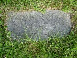 Marion B. <I>Simonds</I> Nichols