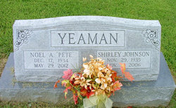 "Noel A ""Pete"" Yeaman"