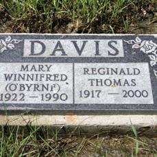 Mary Winnifred <I>O'Byrne</I> Davis