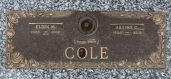 Arline Constance <I>Downing</I> Cole